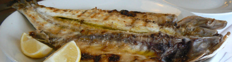 Portuguese Grilled Branzino recipe