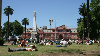 In Buenos Aires, green spaces are everywhere. Getting to know Buenos Aires.