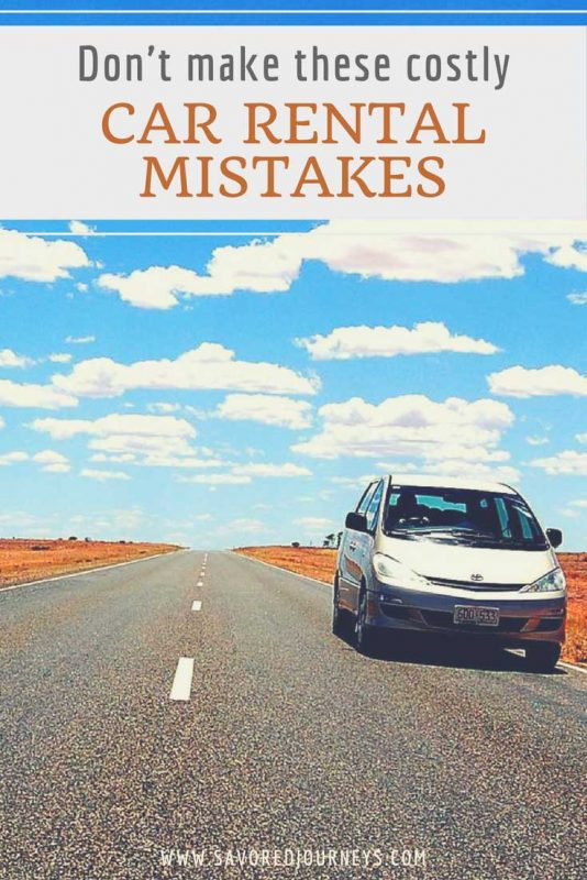How to Avoid Costly Car Rental Mistakes