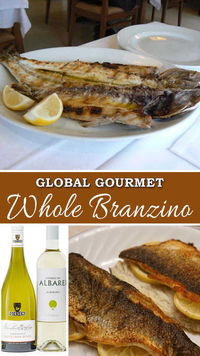 Global Gourmet: Learn how to make Portuguese Whole Branzino at home