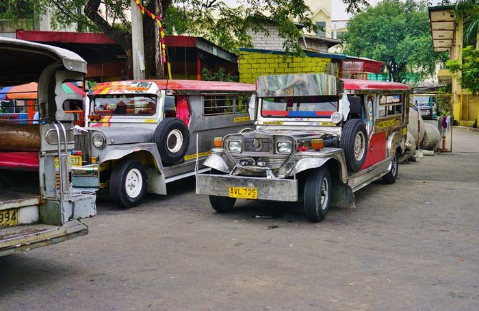 A Jeepney is the most popular mode of transportation in Philippines