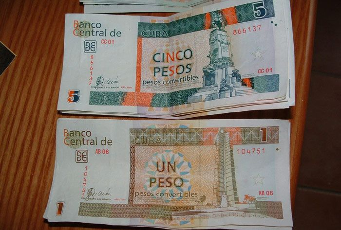 Cuban Convertible Pesos are the main form of currency in Cuba