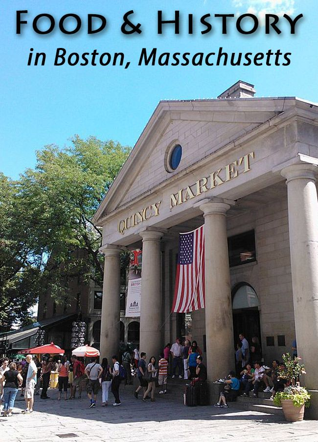 Food & History come together in Boston, Massachusettes. Why not enjoy both together.
