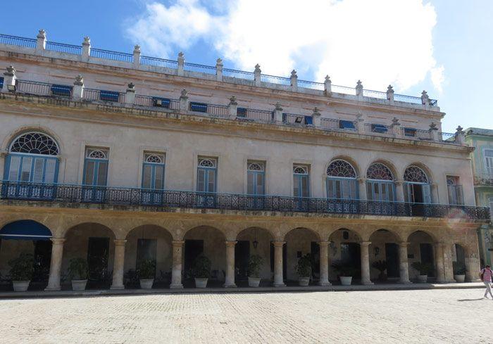 Hotel Santa Isabel in Old Havana, Cuba
