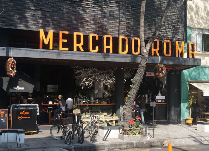 Mercado Roma In Mexico City