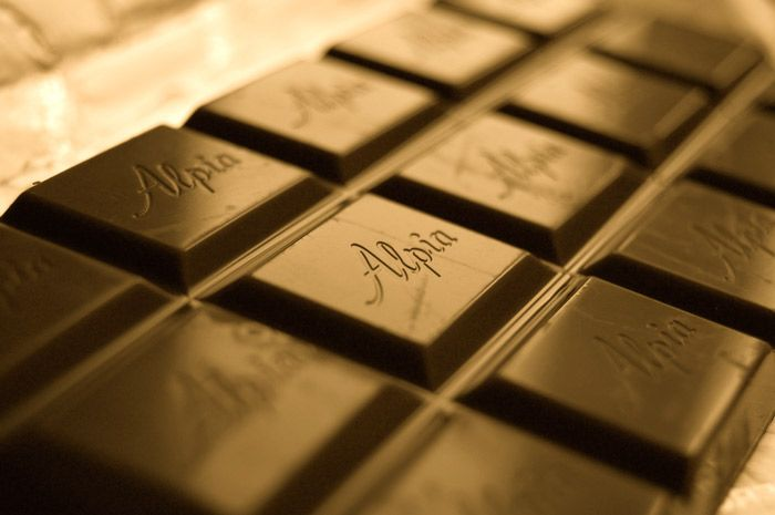 Alpia chocolate from the Stollwerck Factory in Cologne, Germany