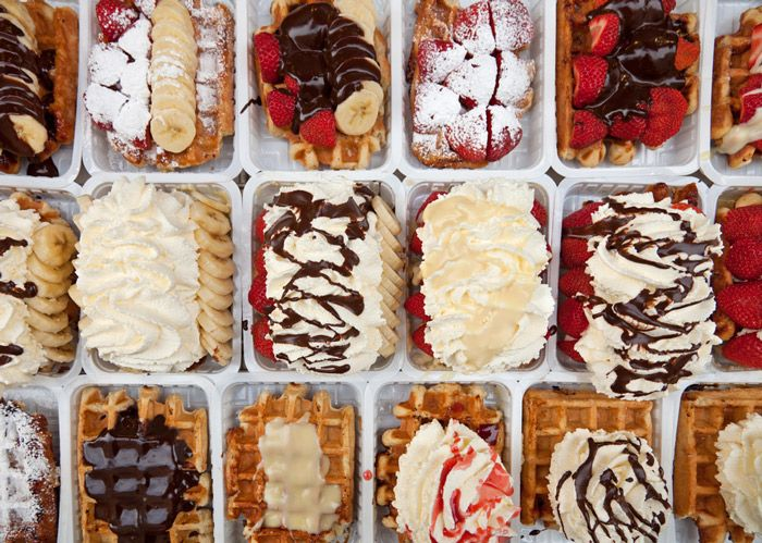 Belgium waffles are one of the best ways to enjoy chocolate.