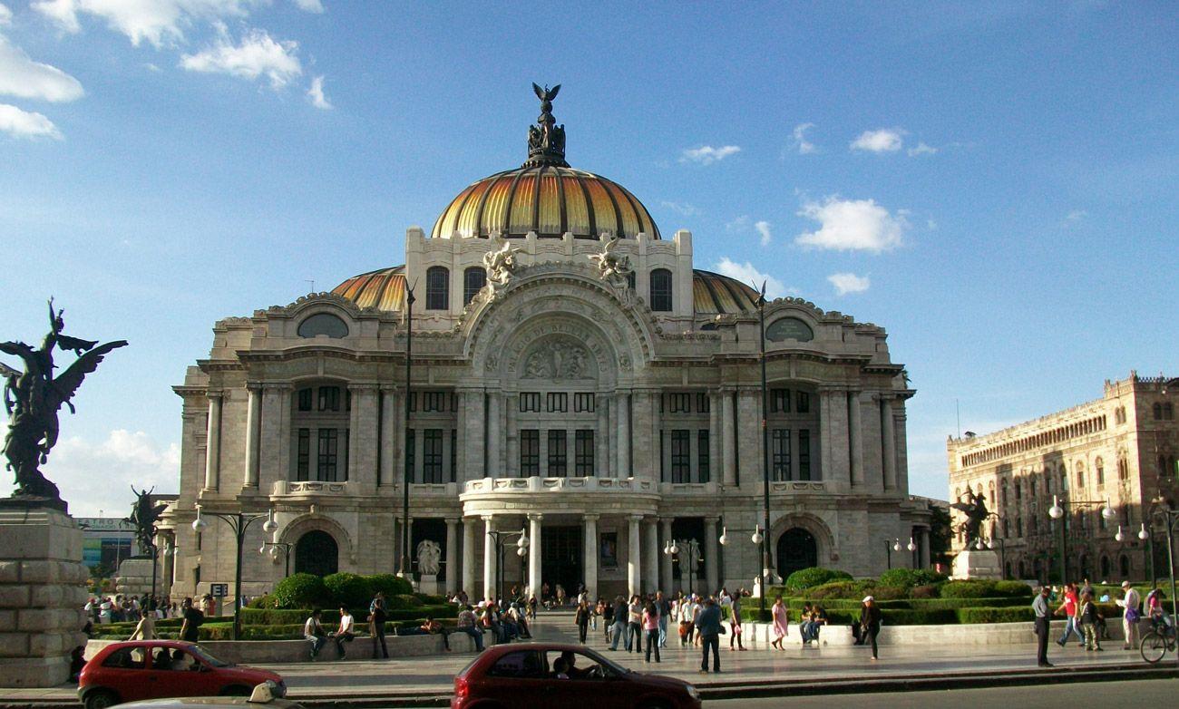 Mexico City Bella Artes building