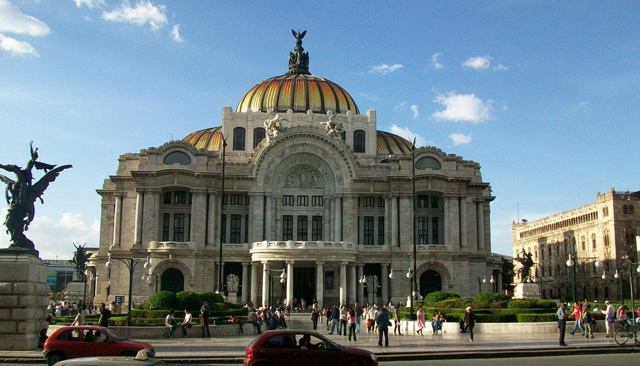 Mexico City Bella Artes building