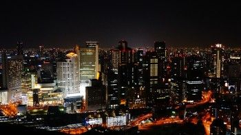 Osaka, Japan, night view