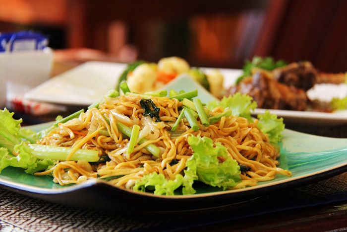 Cambodian noodle dish