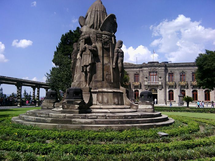 Chapeltepec Castle in Mexico City