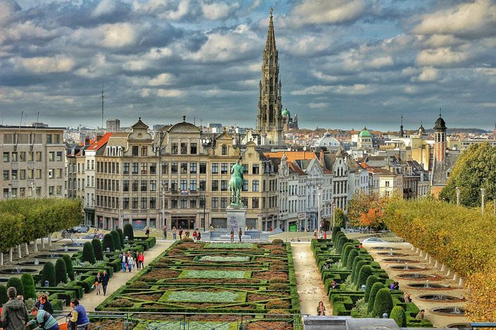 Brussels, Belgium has a lot of incredible landscapes to enjoy