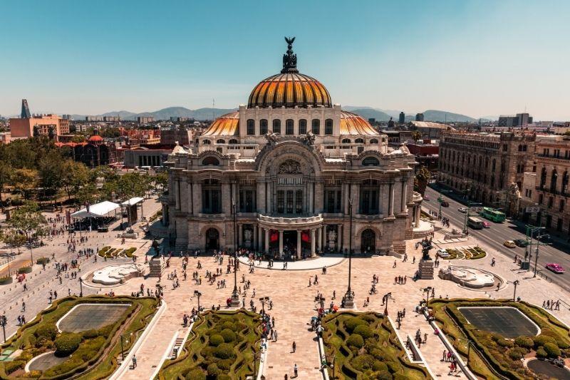 Bella Artes Building Mexico City