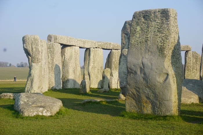 The monument was built in many stages, starting with the outer ring, then the erection of the circle of stones.