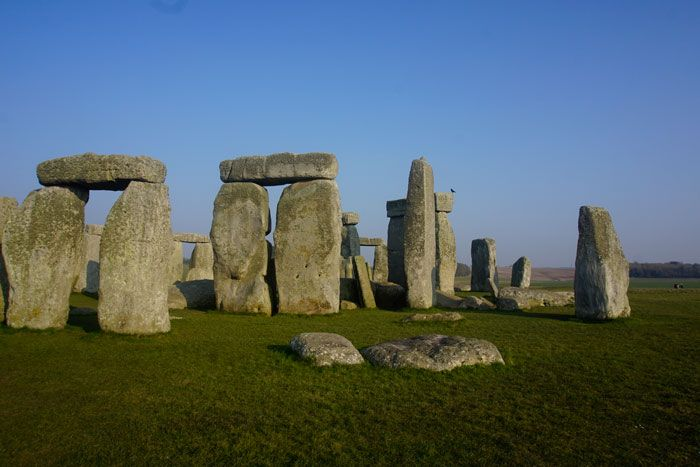 Not all of the original stones remain at the sight.