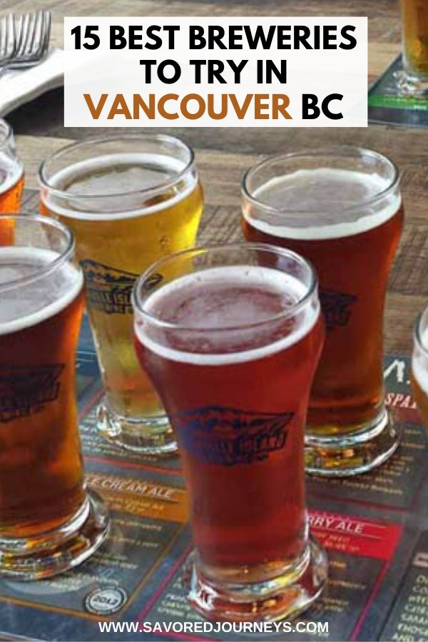 15 Best Breweries to Try in Vancouver