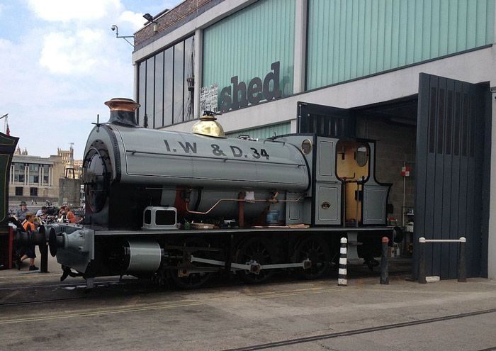 Portbury steam locomotive at M Shed
