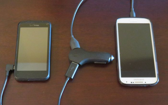 Charging multiple devices with a ZUS