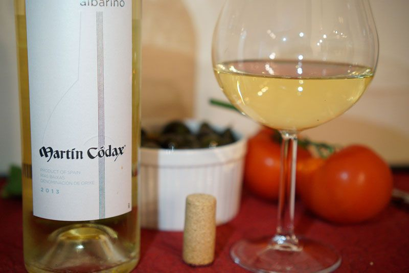 Albarino is a perfect pairing with seafood like octopus, as well as olives and tomatoes.