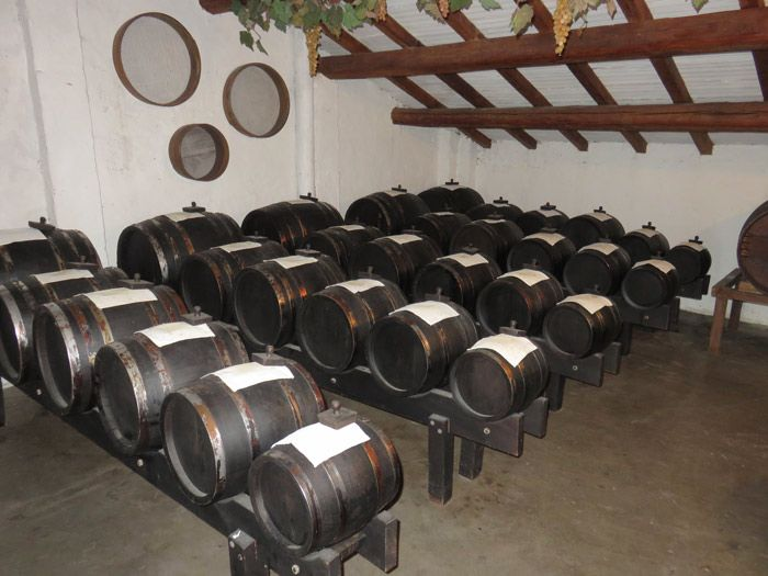 Historic acetaia outside of Bologna where Balsamic Vinegar is aged