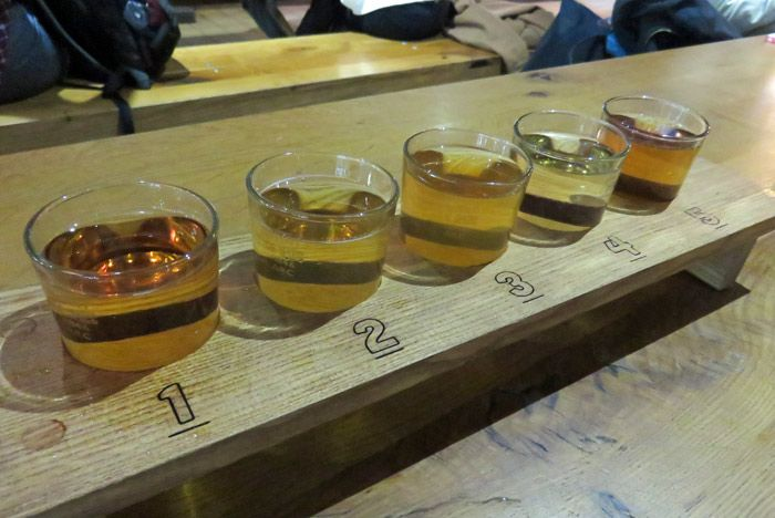 Bristol Cider tasting at The Stable restaurant