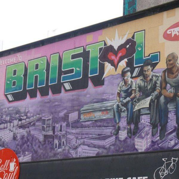 Bristol Graffiti art