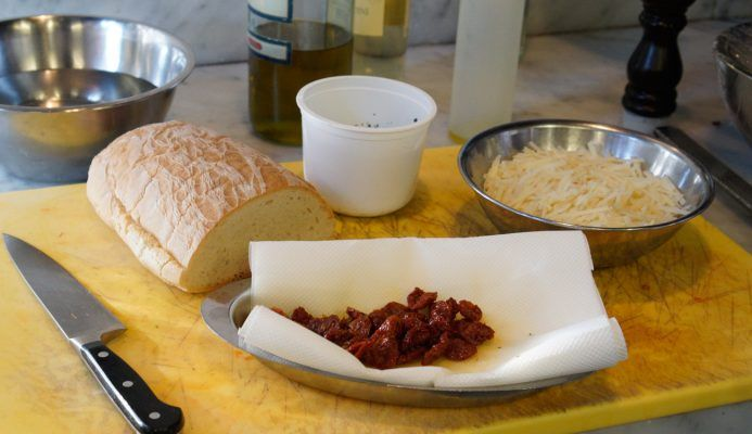 Italian cooking class at Villa Bordoni in the Tuscan countryside of Italy