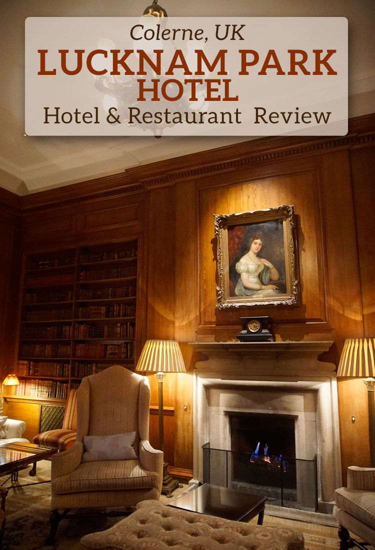 A review of Lucknam Park Hotel & the Michelin-star The Park restaurant in south west England