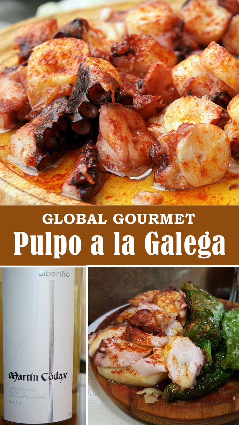 Global Gourmet: Learn how to make Galicia's Pulpo a la Galega at home