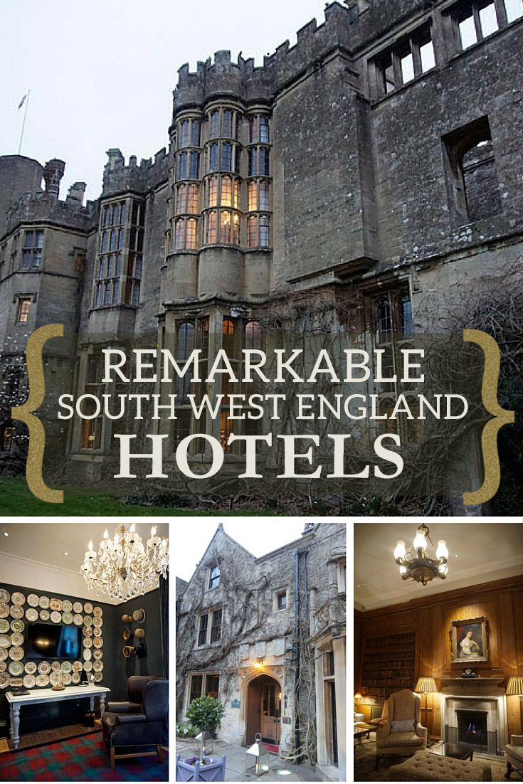 These Four Remarkable Hotels in the South West of England will leave you speechless