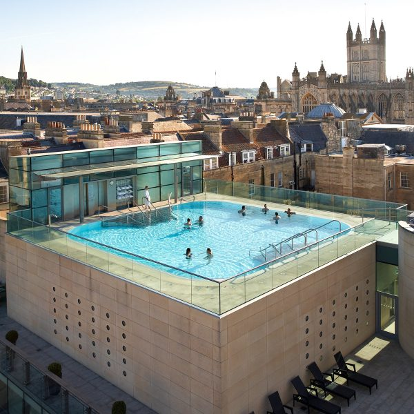 Thermae Bath Spa from above