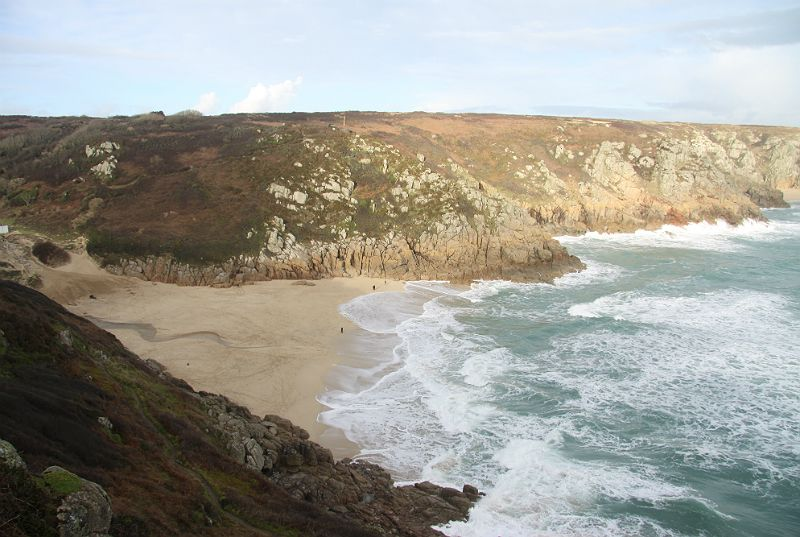 This photo was taken from close to the open air Minack Theatre, close to Land's End in Cornwall