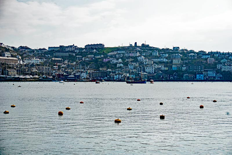 The waterside town of Fowey