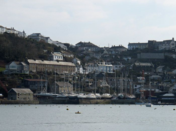 The seaside town of Fowey, England (photo by Savored Journeys)