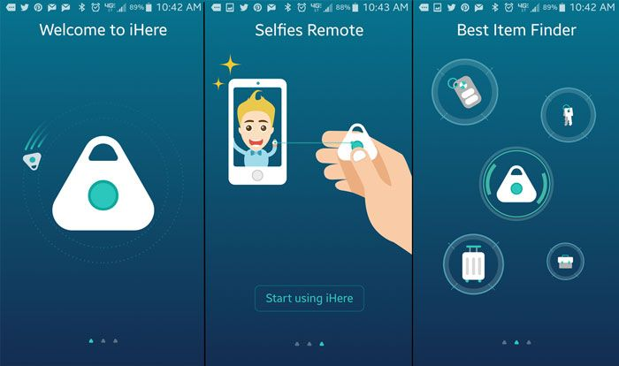 Functionality of the iHere3.0 App