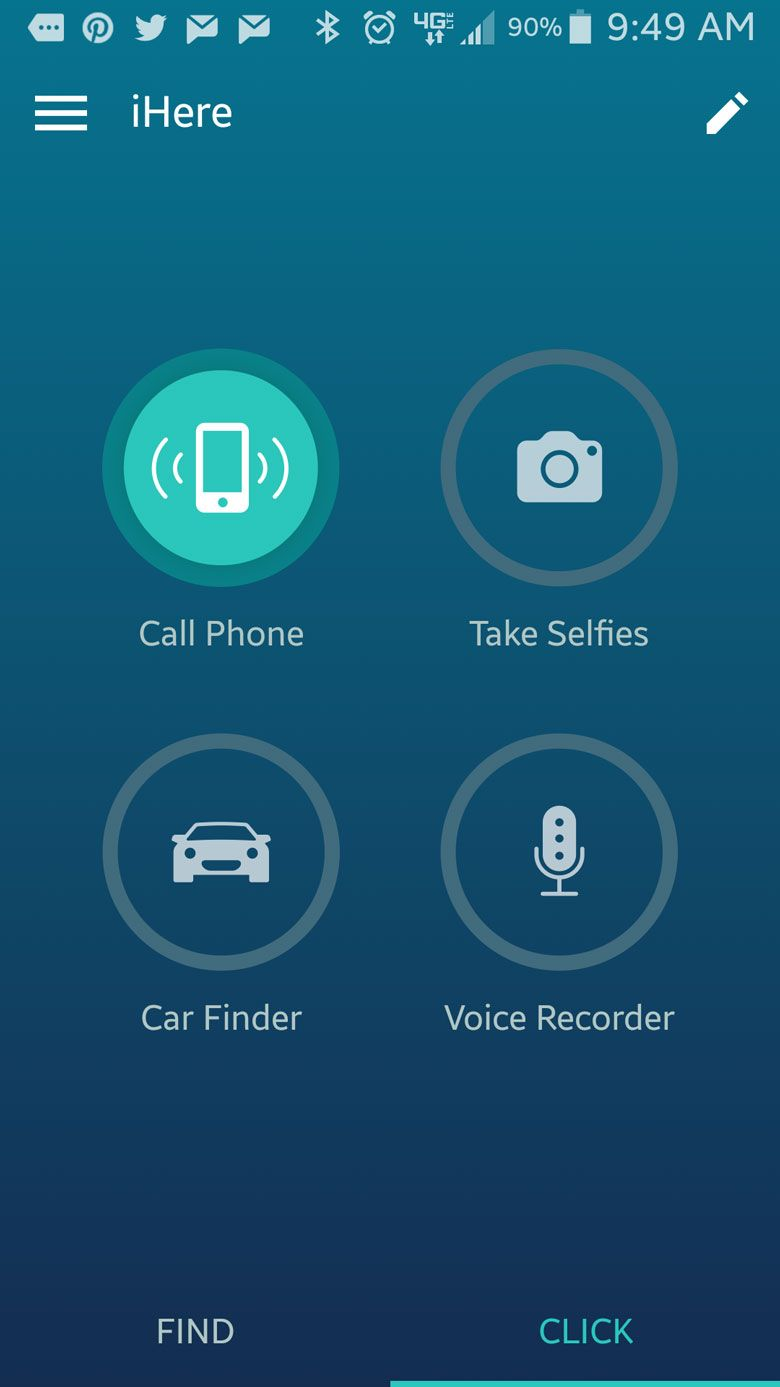 The iHere3.0 can do all kind of handy tasks.