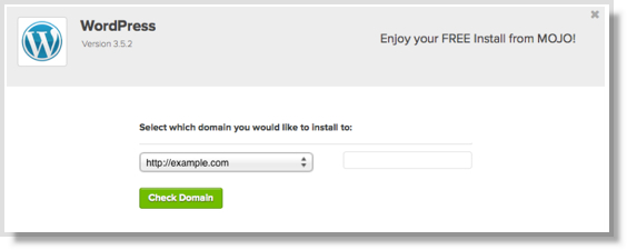 Select your domain