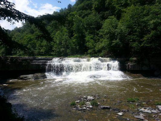 A waterfall near Ithaca