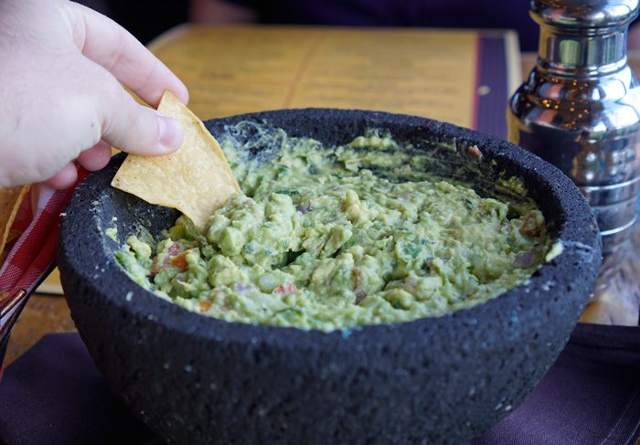 Table side guacamole