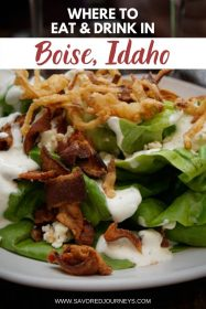 Where to Eat and Drink in Boise Idaho