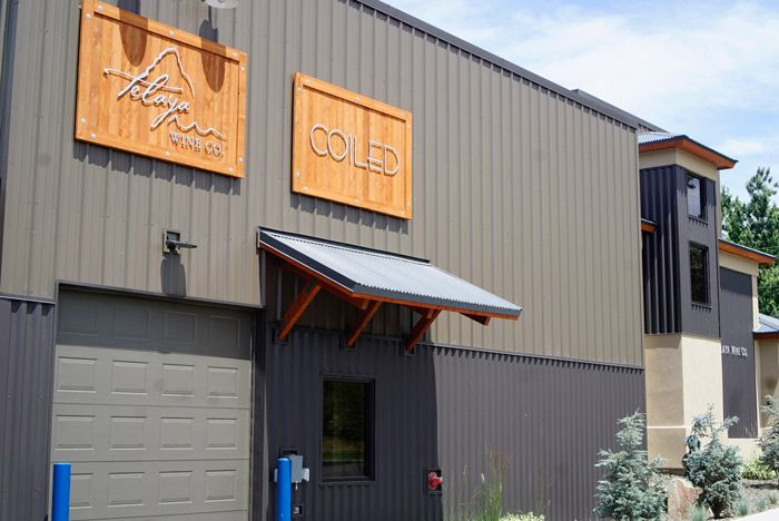 Coiled Winery shares a great new space with Telaya Winery