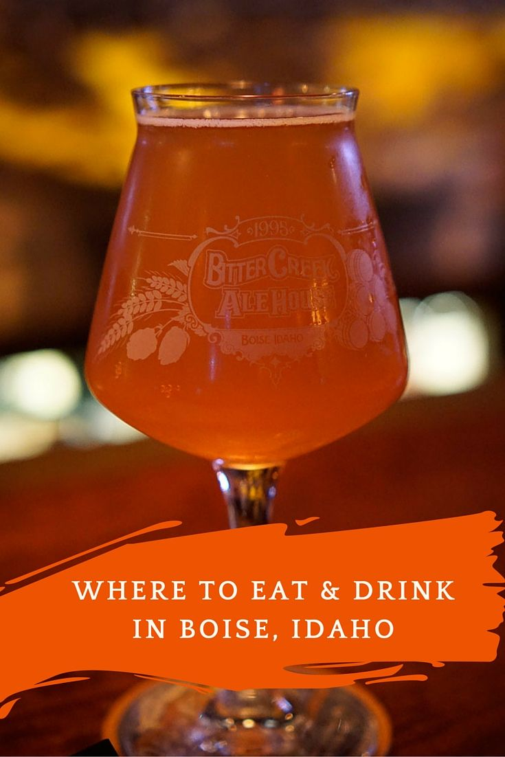 Where to Eat & Drink in Boise, Idaho