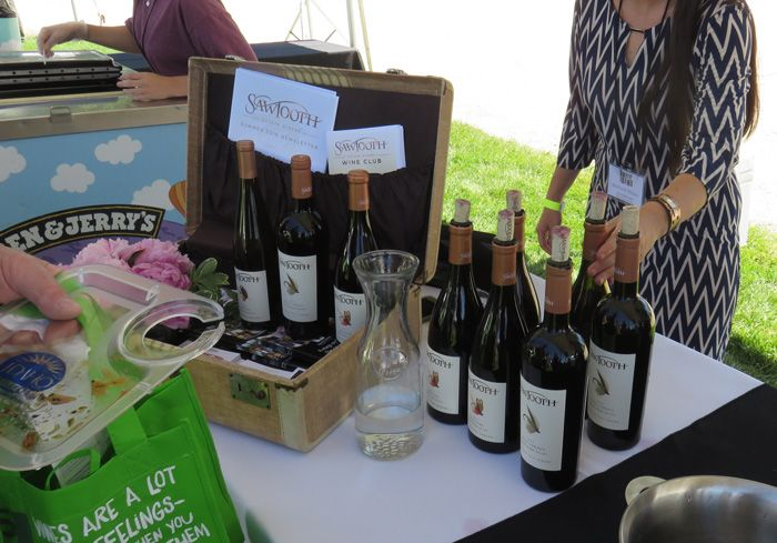 Sawtooth Winery's Petit Verdot stole the show!