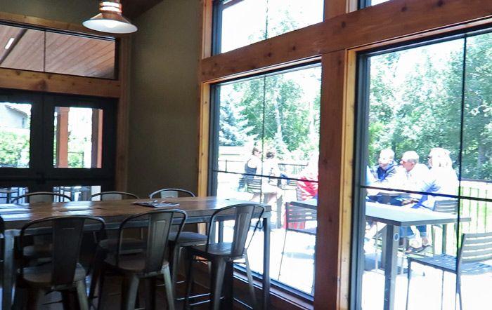 Telaya Wineries great new indoor and outdoor tasting room