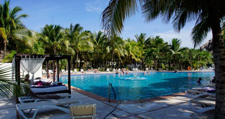 El Dorado Royale main pool - best adults-only resort in Riviera Maya