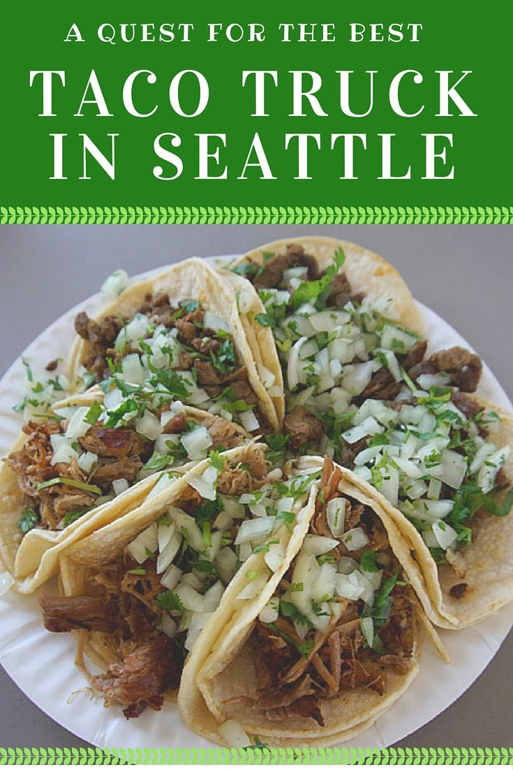 My supper club went on an epic quest to find the best taco truck in Seattle. Read about our findings.
