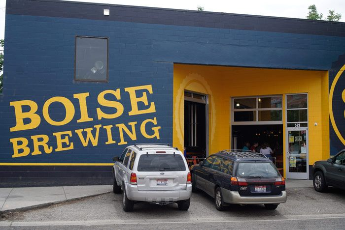 Boise Brewing's downtown location