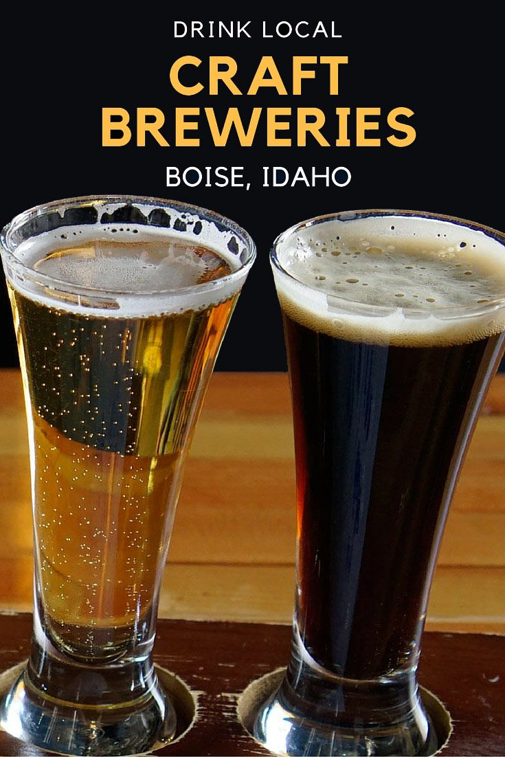 Drink Local at these Craft Breweries in Boise, Idaho