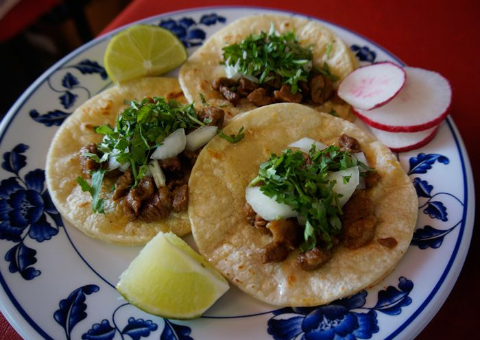 Taqueria Costa Alegre Carne Asada tacos